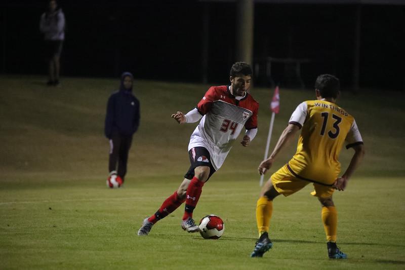 Gardner-Webb University Men's Soccer takes on Winthrop University for their senior night and last regular season matchup at Greene-Harbison Stadium.