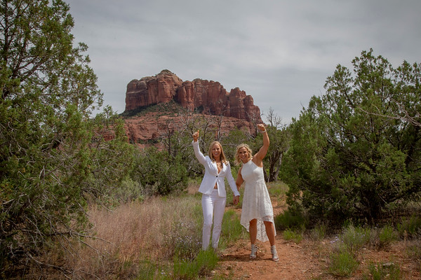 Christen & Elisha's Sedona Wedding Teasers