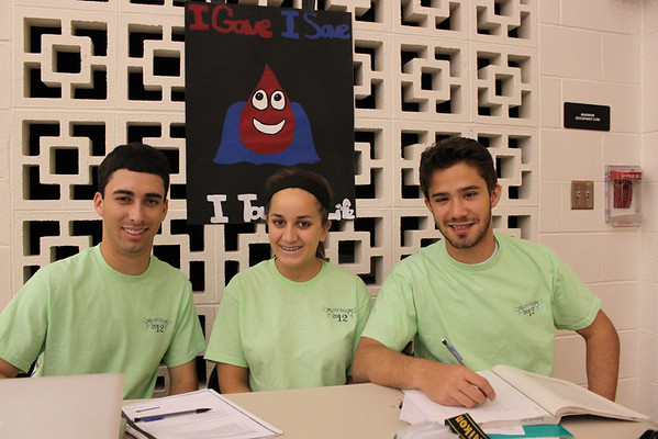 High School Octagon Blood Drive 2012