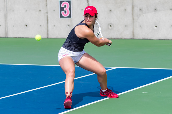 2017 Seattle U Women's Tennis vs Whitman