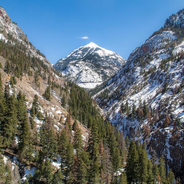 Winter Sunshine on Abrams Mountain