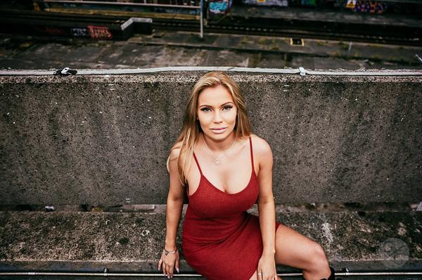 Abby Leigh -Red Dress