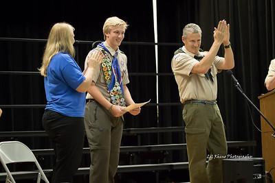 Oliver Eagle Scout Award