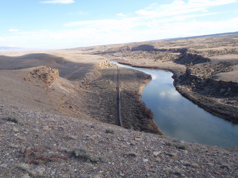 Gunnison River from Gunnison Bluff Trail