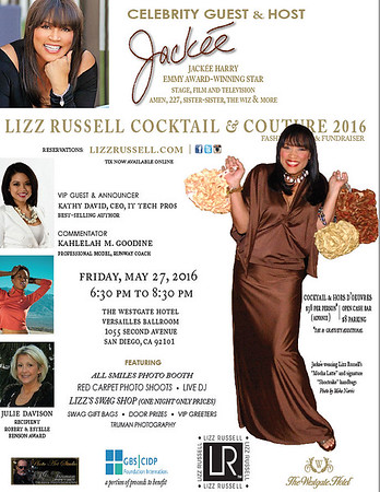 Lizz Russell Fashion Show 2016