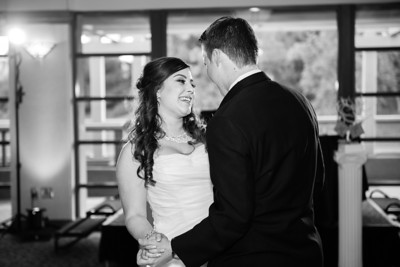 Gray Wedding Reception