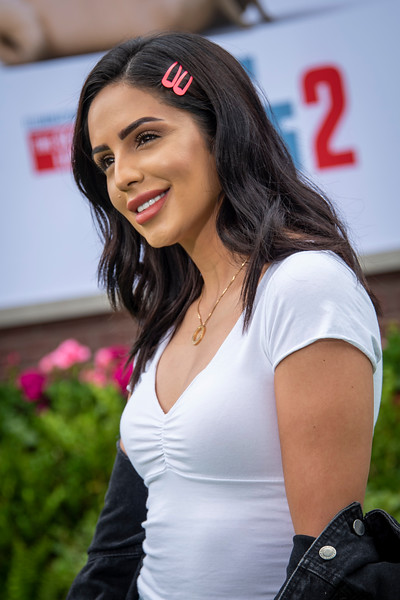 WESTWOOD, CALIFORNIA - JUNE 02: Jackie Hernandez attends the Premiere of Universal Pictures' 'The Secret Life Of Pets 2' at Regency Village Theatre on Sunday, June 02, 2019 in Westwood, California. (Photo by Tom Sorensen/Moovieboy Pictures)