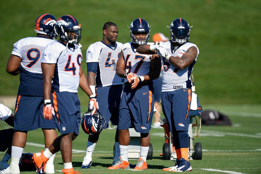 . The Denver Broncos open their 2014 training camp July 24, 2014 at Dove Valley. (Photo by John Leyba/The Denver Post)
