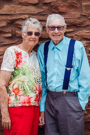 *Harold and his wife celebrate 60 years at the Grand Canyon