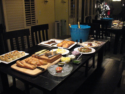 Champagne Dinner Party - December 2007