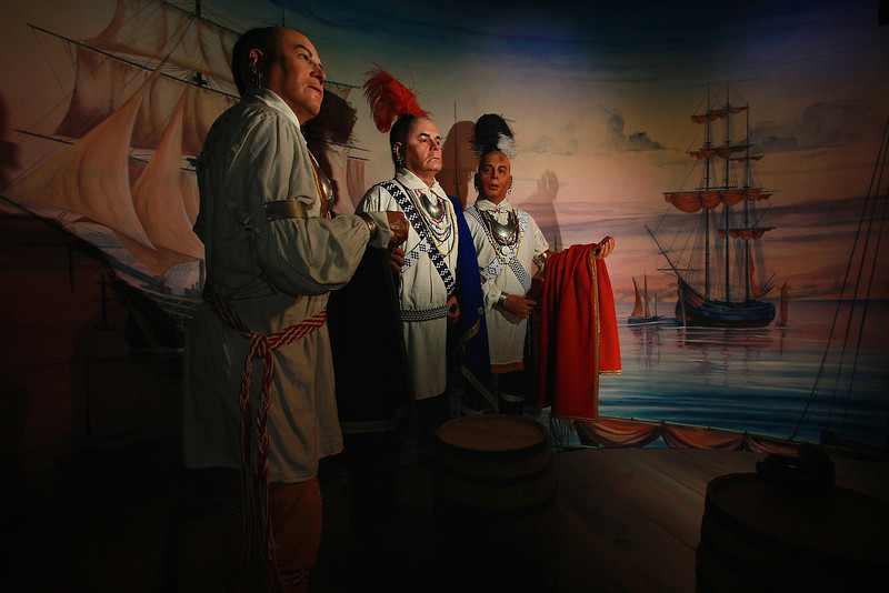 Cherokee; Museum of the Cherokee Indian and other photos.