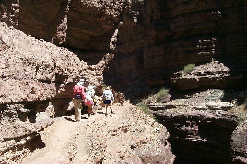 Hiking above Slot   (Jun 06, 1999, 12:23pm)