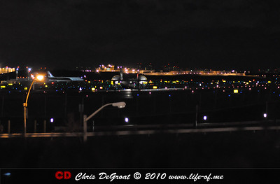 Nightime Plane Spotting