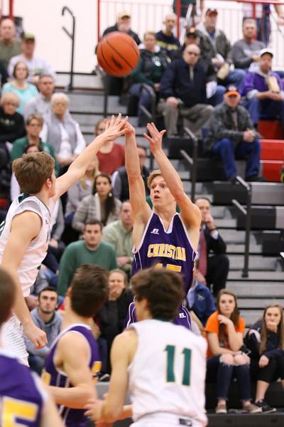Basketball bva Playoffs Districts - Hackett - KCHS - 3/9/17