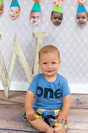 Wyatt {1 year old session}