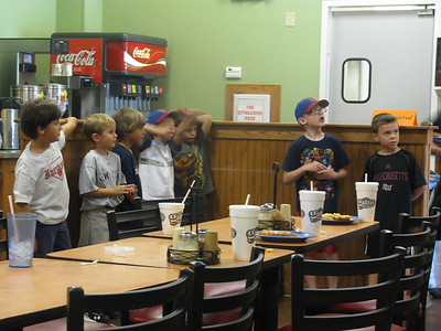 July 1, 2012 (Quinn's Baseball Pizza Party)