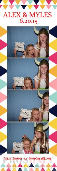 Alex & Myles Wedding 6-20-15