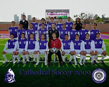 CHS Soccer Posed