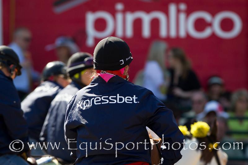 Xpressbet pony jackets at Pimlico 5.19.2012