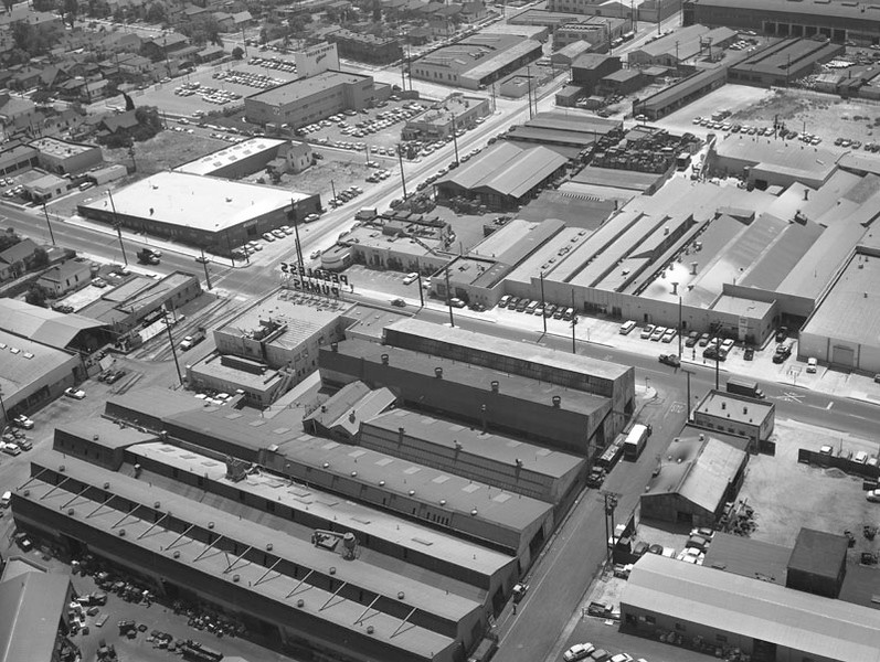 1950s, Industrial Area Aerial