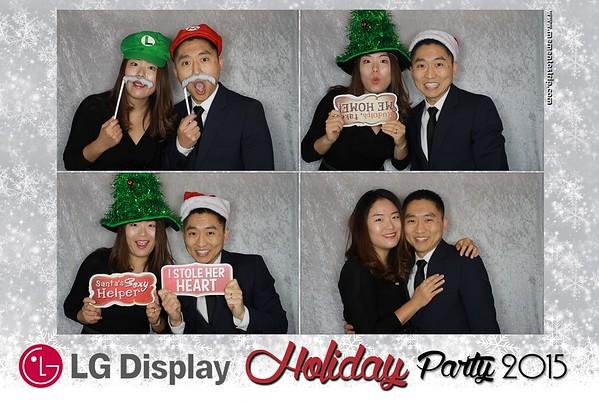 LG Display Holiday Party 2015