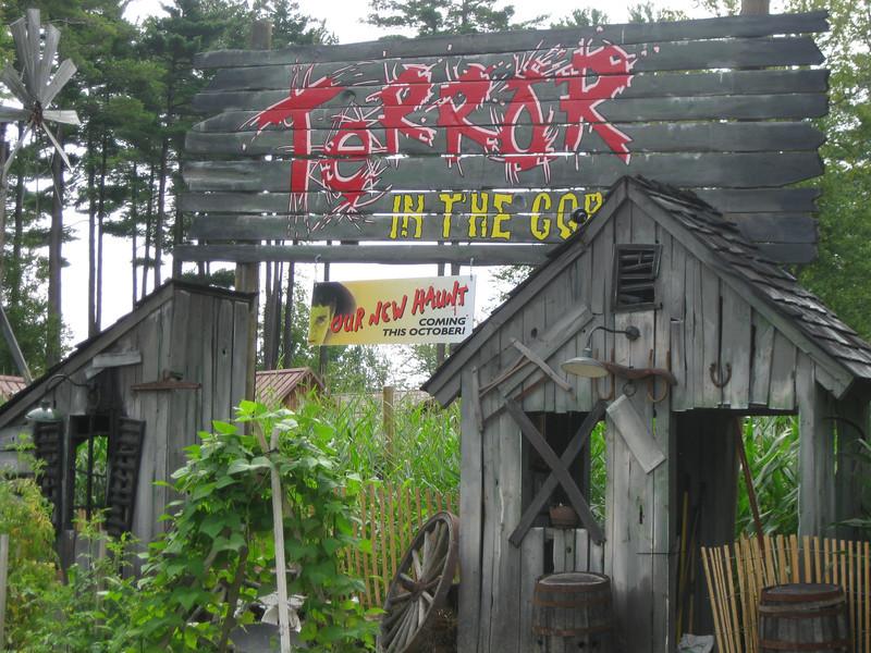 Terror in the Corn haunt area.