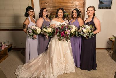 Pre Wedding Bride and Girls