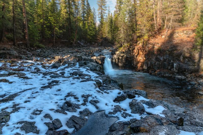 Snowy McCloud Falls
