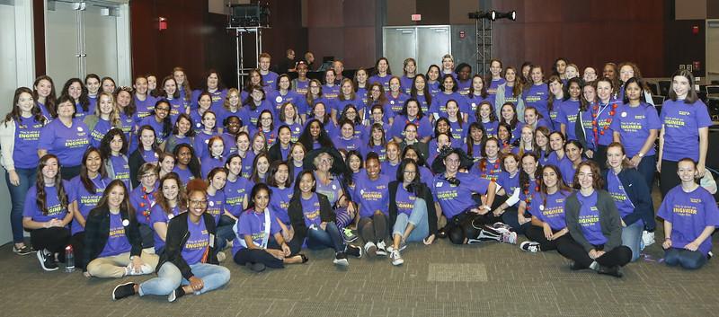 WE17 Invent It Build It Volunteers - MS Role Models
