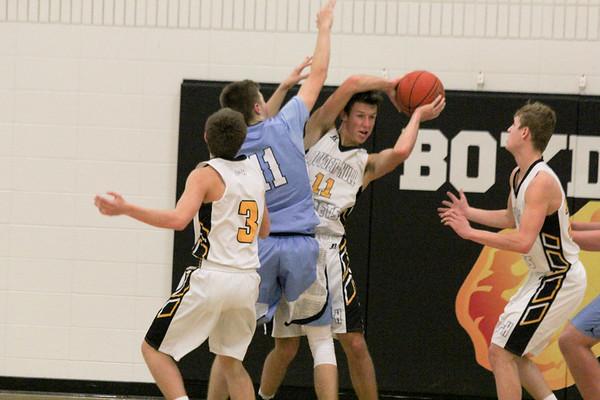 BH boys' basketball versus Unity Christian 1-8-19