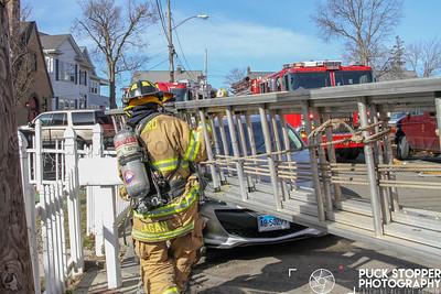 House Fire - 20 Hackett Cir So, Stamford, CT - 3/24/19