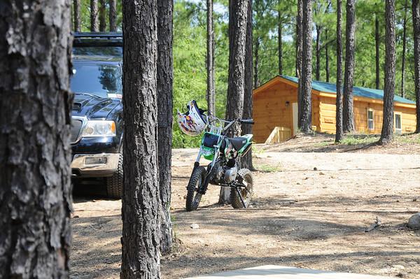 Dirt biking in South Carolina and Graceland