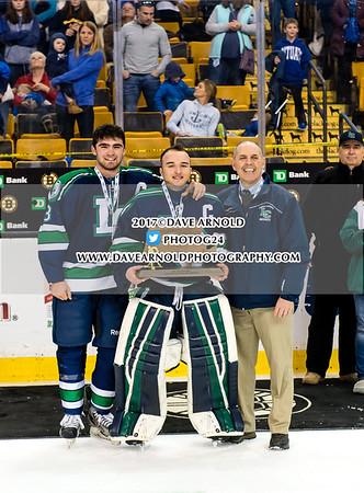 3/19/2017 - MIAA Boys D2 State Championship -  Lowell Catholic vs Scituate