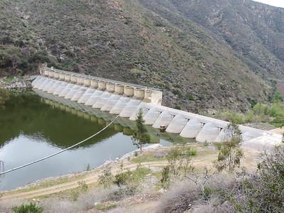 Lake Hodges Dam 3-23-2014