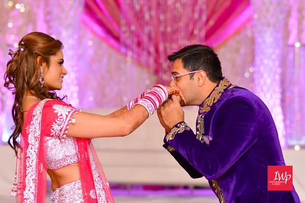 Sarika & Kartik: wedding reception