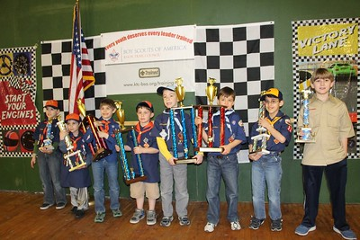 2013 - District Pinewood Derby