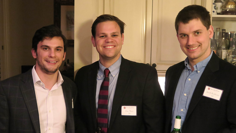 Henry Tesar '10, Peter Theis '06, and Jacob Redfearn '10