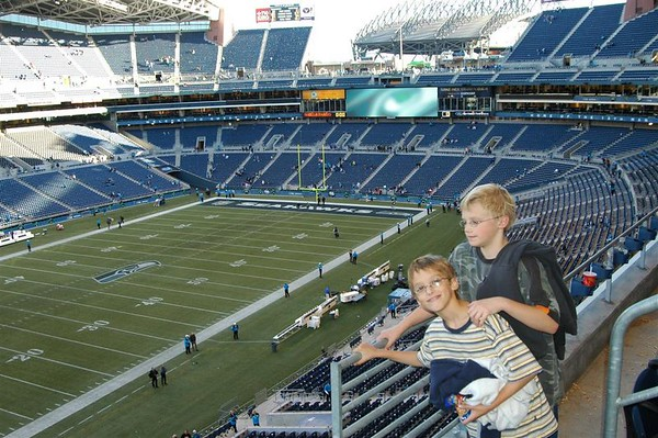 Seahawks vs Rams Oct 10 2004