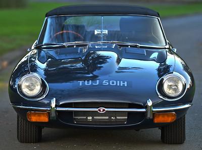 1970 Jaguar E-Type Series 2 Roadster TUJ501H