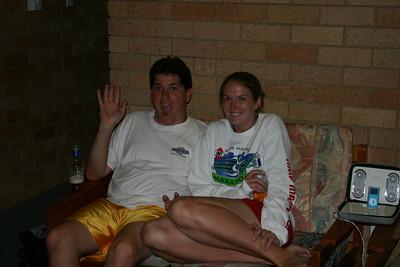Adam and Kristi Visiting!!!!