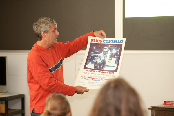 9/15/11 Music Executive and Buffalo State Alumni Steve Ralbovsky Speaking to Music Class