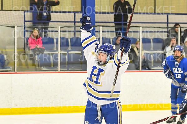 NESCAC Qtrs Hamilton Women's Hockey v Colby College 2-23-19