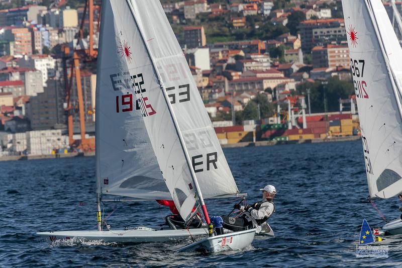 2018-10-09 · Day 3 · Vigo Laser Masters European Championship · 0491.jpg