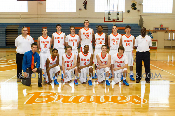 Boone Boys Basketball Team Photos - 2011-2012