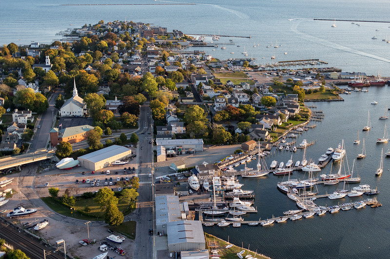 Stonington Borough From the Air
