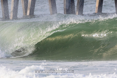 County Pier AM Surf Session Reopening Day  COVID 19 AM