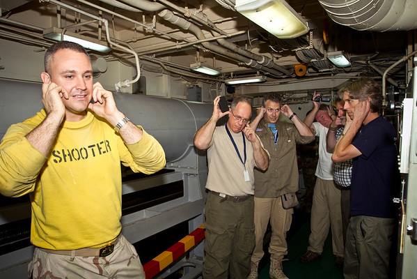 USS Enterprise Aug-Sep 2012