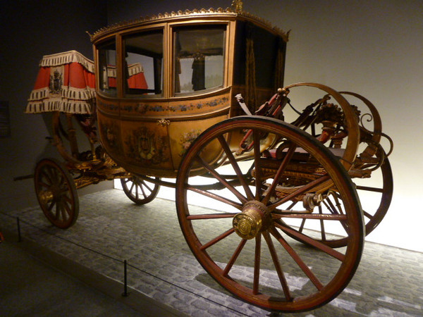 Musée des Beaux Arts exhibition of carriages from Versailles