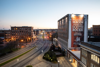 2020 Installment of Updated South Rocks Banner Downtown