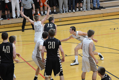 Boys Basketball vs. Sycamore 1-22-13